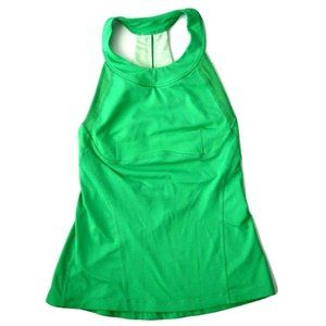 Lululemon Make It Count XXS Green Teal Tank